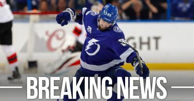 kucherov out for the entire 2021 season, lightning get $9
