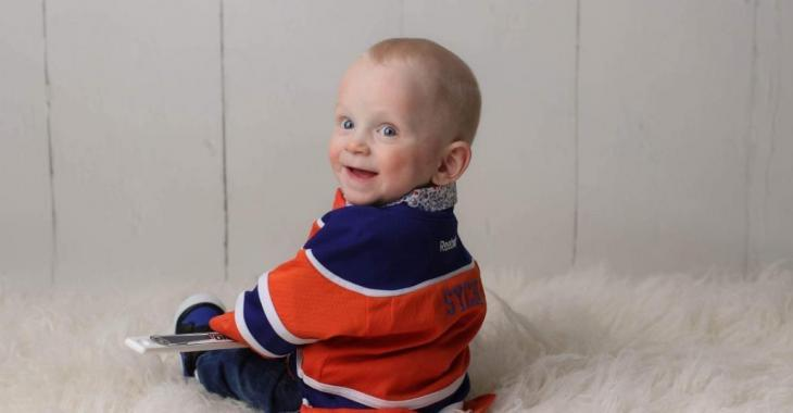 Flames mom & Oilers dad beg the hockey community to help save their little boy.