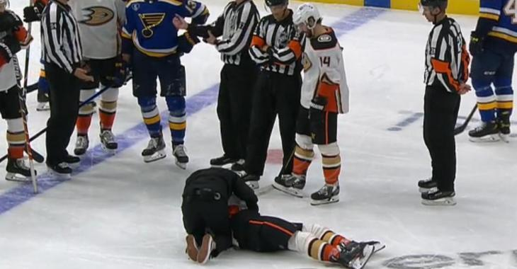 Rickard Rakell knocked out just weeks before the trade deadline.