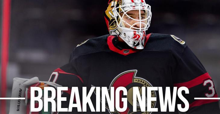Sens shake up their goaltending, GM Dorion throws Murray completely under the bus