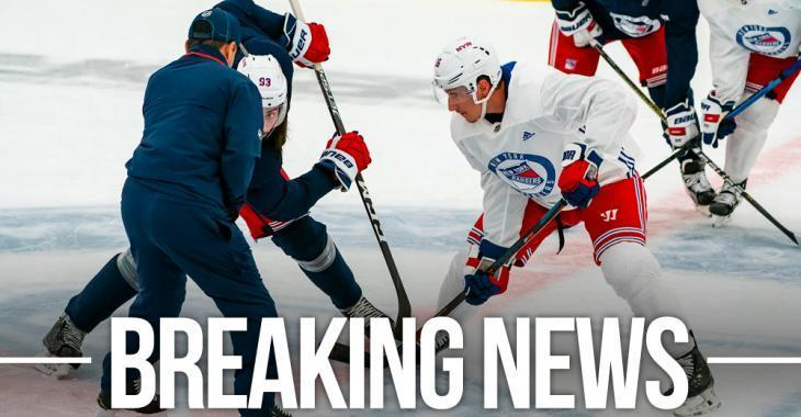 Rangers unexpectedly cancel today's practice; rumors swirling online