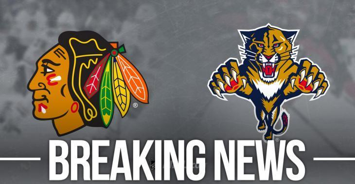 Blackhawks and Panthers make a trade, Connolly headed to Chicago
