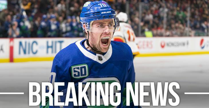 Canucks re-sign Pearson to three year contract and fans are NOT happy