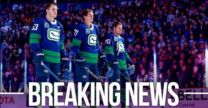 NHL officially suspends Canucks' return to play