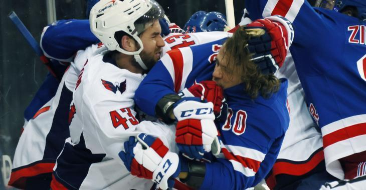 Tom Wilson reaches out to Artemi Panarin after injuring him