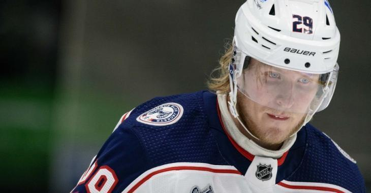 Laine makes confusing plea after hitting rock bottom in Columbus