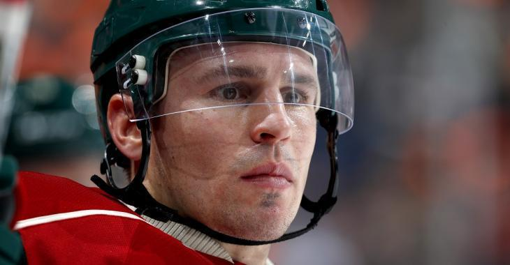 Zach Parise may have hit a low point in his NHL career.