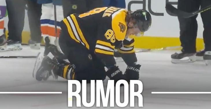 Komarov butt-ends Pastrnak after the whistle and Jack Edwards absolutely loses his mind