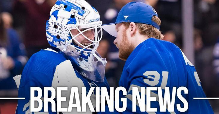 Leafs make a number of roster moves as they prepare for the Stanley Cup Playoffs