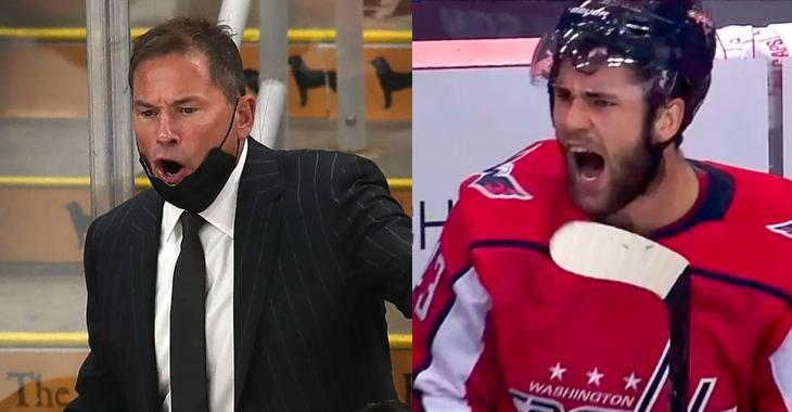 More controversy about Bruce Cassidy's fine thanks to Tom Wilson!