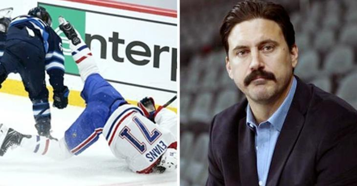 Scheifele's suspension: reporter claims George Parros was looking to help his former team!