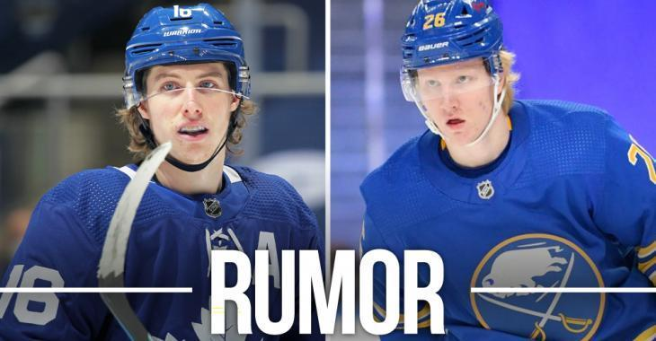 Rumor: Crazy report of a blockbuster deal between Leafs and Sabres