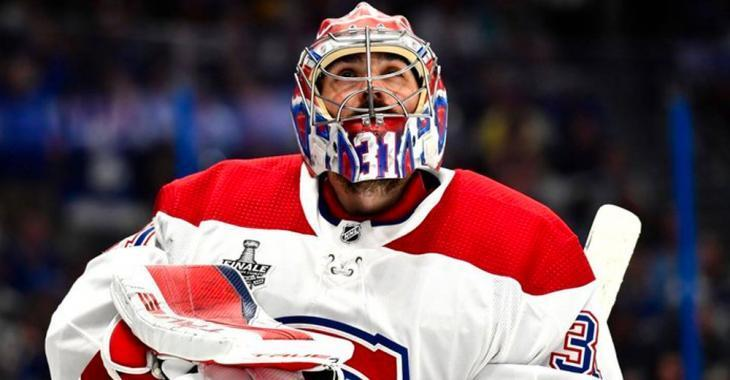 Carey Price leaves the Canadiens for personal reasons