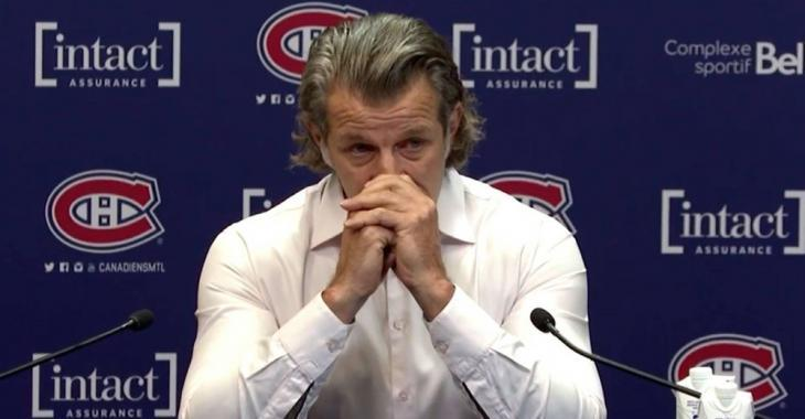 Marc Bergevin fights back tears as he explains why Carey Price is leaving the Habs
