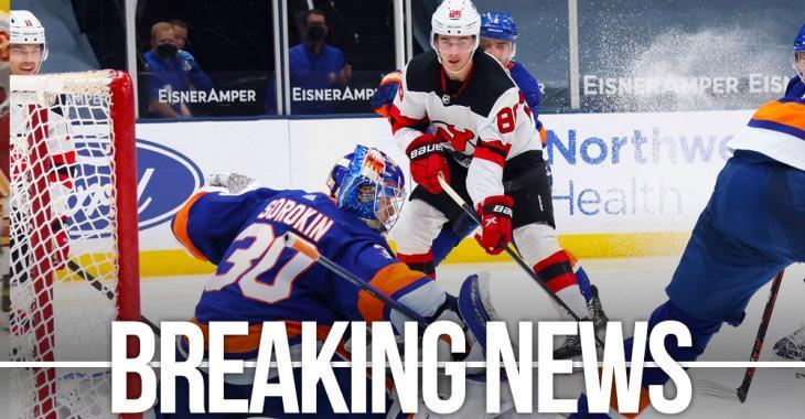 Breaking: Tonight's game between the Islanders and Devils has been cancelled