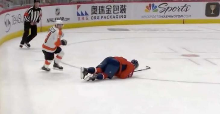 Alex Ovechkin injured in preseason finale!