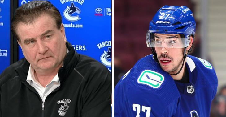 """Canucks on Hamonic: """"It's bigger than what you think. We're working with him to get him the help he needs."""""""