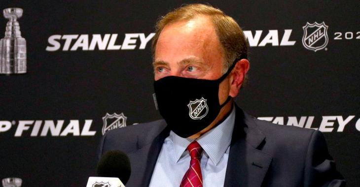 Bettman reveals that four NHLers have chosen to go unvaccinated